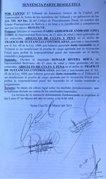 """""""Narco"""" detenido en Brasil fue absuelto en Bolivia por """"duda razonable"""" de un tribunal"""