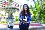 Joven mexicana diseña tacones con gas pimienta