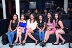 Carla Ortiz, Valeria Calvo, Mabel Calderón, Karen Barón, Melanie Suzuki y Kimberly Bracamonte.