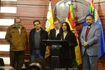 UPEA: Gobierno se abre a analizar la Ley de Coparticipación Tributaria