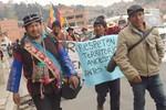Ni para Colombia ni para España,  el tesoro es para los Qhara Qhara