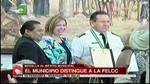 Santa Cruz: Concejo Municipal distinguió al ex coronel Gonzalo Medina