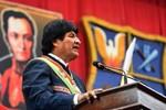 """Evo Morales condena """"enérgicamente intento de golpe de Estado en Venezuela"""""""