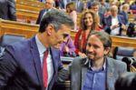Sánchez preside gobierno de izquierdas en España.