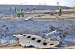 Avión accidentado en Irán llevaba a 63 canadienses