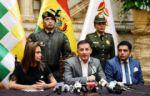 López: FFAA están indignadas con Evo por idea de milicias armadas