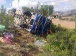 Confirman cuatro fallecidos en accidente de bus en la ruta Santa Cruz-Sucre