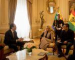 EEUU ofrece cooperación en la lucha contra la corrupción y el narcotráfico