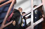 Romero ingresa a su audiencia de acción de libertad y dice ser inocente