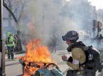 """Los """"chalecos amarillos"""" provocan daños en París"""
