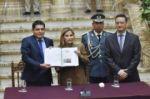 Gobierno presenta informe sobre la situación de los DDHH tras el fraude electoral