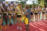 La uruguaya Lincy Colmm es la Miss Deporte Patra en concurso de la Reina Hispanoamericana