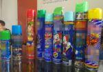 ¿Qué marcas de espuma están autorizadas para Carnaval?
