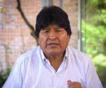 Evo Morales pide acompañamiento internacional para elecciones en el país