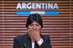 """Morales, en tono de amenaza,  habla de """"militares patriotas"""""""
