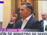 López es nuevamente posesionado como Ministro de Defensa