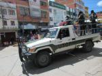 Cerca de un centenar de detenidos en Sucre por incumplir la cuarentena