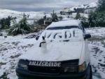 Cae nieve en las zonas altas de los valles cruceños