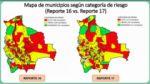 Índice de riesgo: 86 municipios cambian de categoría esta semana
