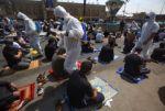 Miles de fieles en primeras oraciones semanales en plena pandemia en Irak