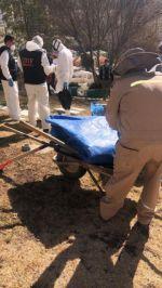 En marcha, la exhumación de los supuestos restos de Jorge Clavijo