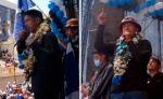 Andrónico y Gutiérrez advierten con tomar el poder en las calles en caso de fraude