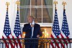 """Aún en riesgo por covid-19, Trump sale del hospital y promete volver """"pronto"""" a la campaña"""