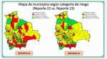 Bolivia: Veinte municipios bajan su calidad de riesgo alto esta semana