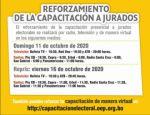 Programa de capacitación a jurados electorales se transmitirá en 120 medios de comunicación