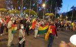 Movilizaciones en cinco departamentos en contra de la anulación de los dos tercios
