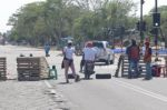 Cerca de 50 puntos de bloqueo en Santa Cruz en horas previas al cabildo
