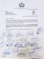 Creemos pide a Áñez ordenar auditoría y senadora, parar transmisión de mando