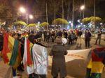 Organizaciones se movilizaron en 4 ciudades, mientras Santa Cruz cumple paro