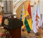 Surgen reclamos por el retiro de la bandera del patujú en actos oficiales del Gobierno