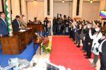 Diputados supraestatales fueron posesionados