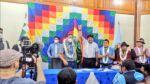 MAS emprende su camino a las subnacionales con Luis Arce y Evo Morales