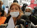 Protesta de madres de familia denuncia exclusión de Bono Contra el Hambre