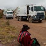 Vecinos cortan el camino al botadero de Lechuguillas