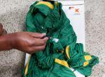 Santa Cruz: Hallan droga impregnada en elásticos de ropa deportiva
