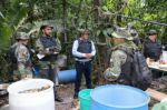 Desbaratan megalaboratorio donde producían hasta 250 kilos de cocaína por día