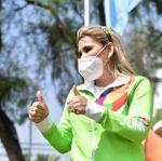 """La alianza """"Ahora"""" inscribe a Jeanine Áñez como candidata a la Gobernación de Beni"""