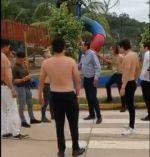 ¿El exministro Yerko Núñez en una pelea callejera?