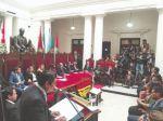 Alistan inauguración del Año Judicial para este miércoles