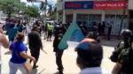 Masistas y funcionarios de la Caja de Salud de Caminos se pelean en Santa Cruz