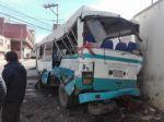 Sucre: Un accidente de tránsito en Horno K'asa deja dos menores heridos