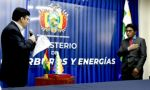 Marcelo Gonzales asume la presidencia de Yacimientos de Litio Bolivianos