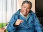 Román Loayza habla de refundar el IPSP quechua en Sucre