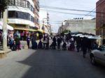 Sucre: Gremiales de la zona del mercado Campesino instalan bloqueos