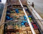 Potosí: Decomisan bebidas alcohólicas de contrabando valuadas en casi Bs 100 mil