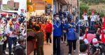 Fuerzas políticas cierran campañas con cumbia, serenatas móviles y caravanas en Sucre